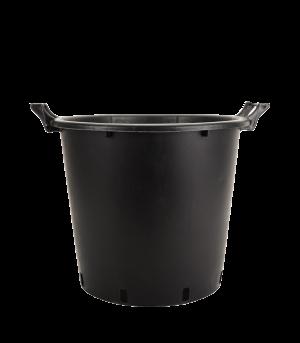 Kanta okrugla sa ručkama, crna – 35L