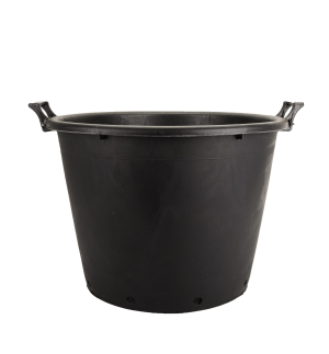 Kanta okrugla sa ručkama, crna – 80L