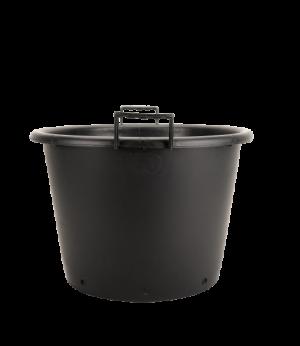 Kanta okrugla sa ručkama, crna – 43L