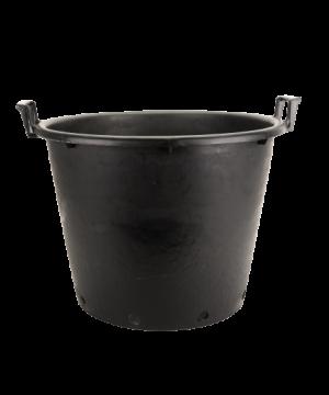 Kanta okrugla sa ručkama, crna – 65L