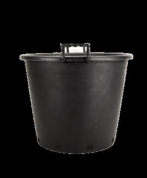 Kanta okrugla sa ručkama, crna – 70L