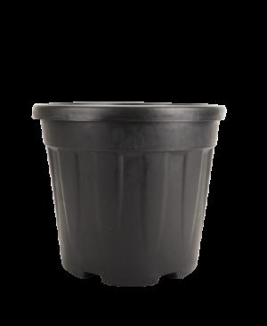 Tegla okrugla rebrasta, crna – 20L